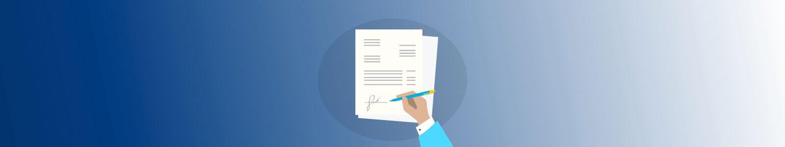 Muss man Rechnungen unterschreiben?