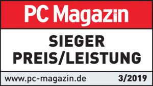 Testsieger PC MAgazin