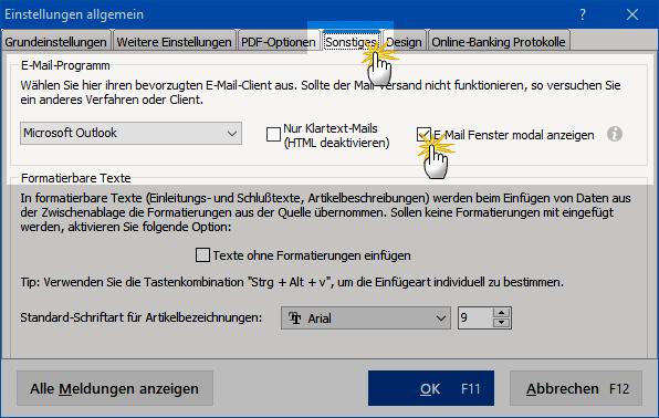 E-Mailfenster