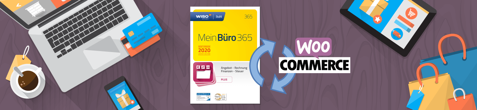 "<span class=""text-thin"">Mein</span>Büro-Webselling: Komfortable WooCommerce-Connection"