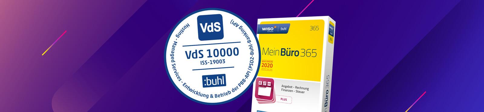 Eine sichere Sache: MeinBüro ist VdS-1000 zertifiziert!