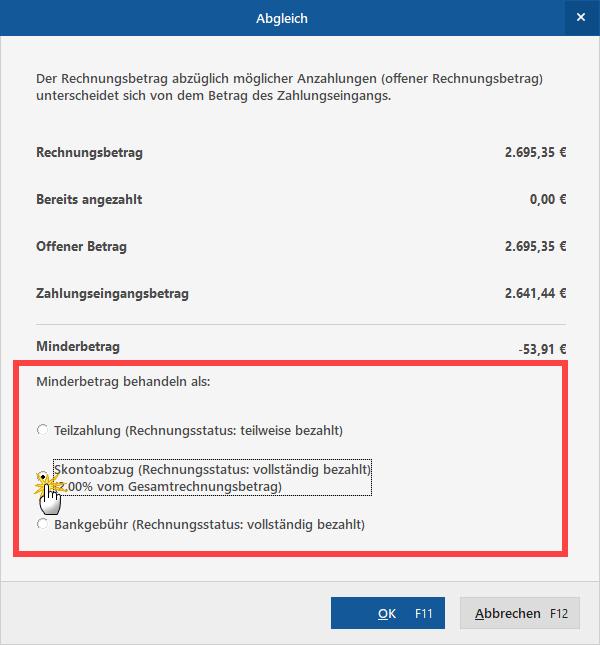 Teilzahlungen verwalten