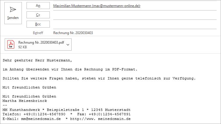 E-Mailanhang