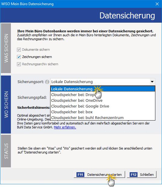Datensicherung 2