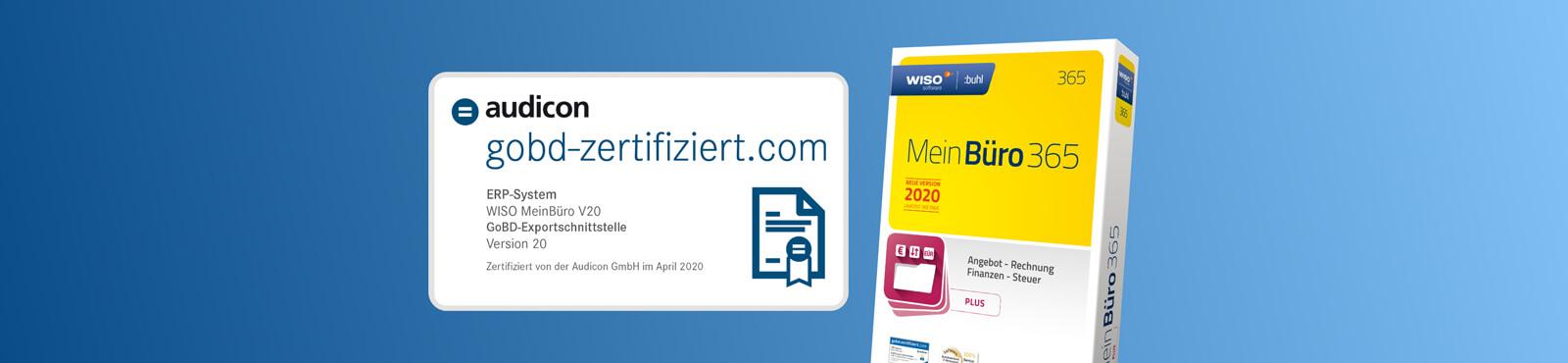 GoBD-kompatibel: Zertifizierte MeinBüro-Exportschnittstelle