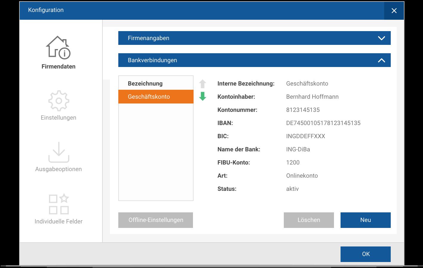 MeinBüro In drei Schritten zum automatischen Zahlungsabgleich