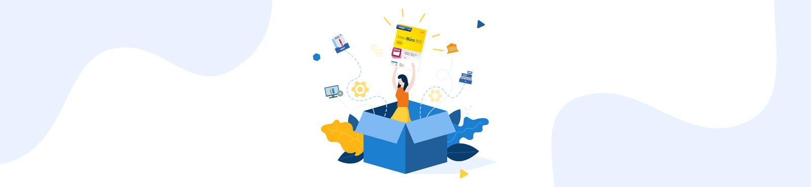 MeinBüro aktuell: Neue Programmversion mit mehr Bedienkomfort