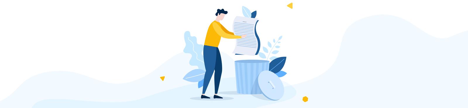 Aufbewahrungsfristen 2021: Diese Dokumente können Sie gefahrlos entsorgen