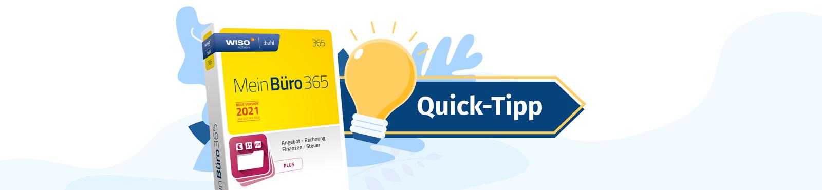 MeinBüro-Quicktipp: Ausgewählte Positionen aus vorhandenen Vorgängen übernehmen