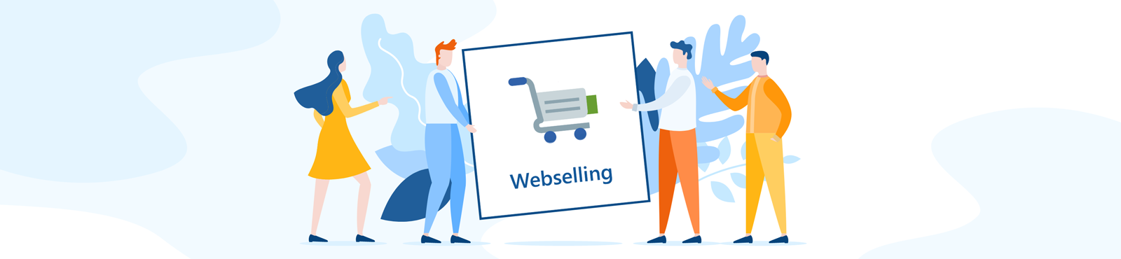 Zusatzmodul Webselling: Ihr Verkaufserfolg im Onlineshop