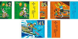 Sonderbriefmarken: Thema Behindertensport