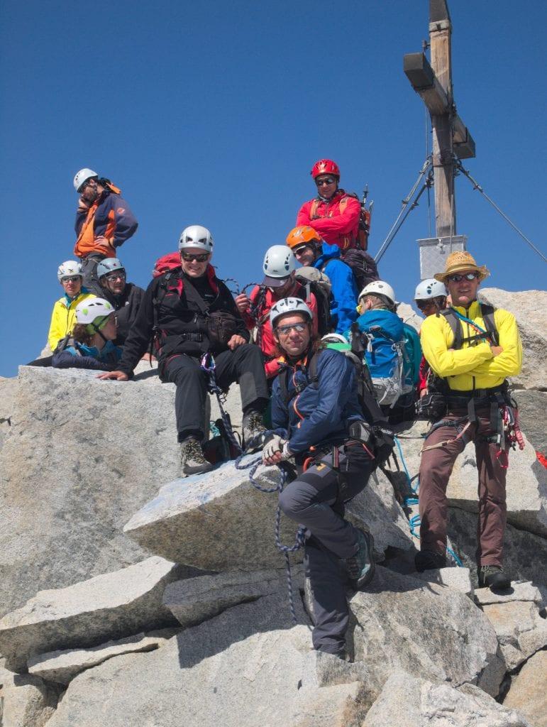 Ausflug des Alpenvereins Kelheim zum Gipfelkreuz