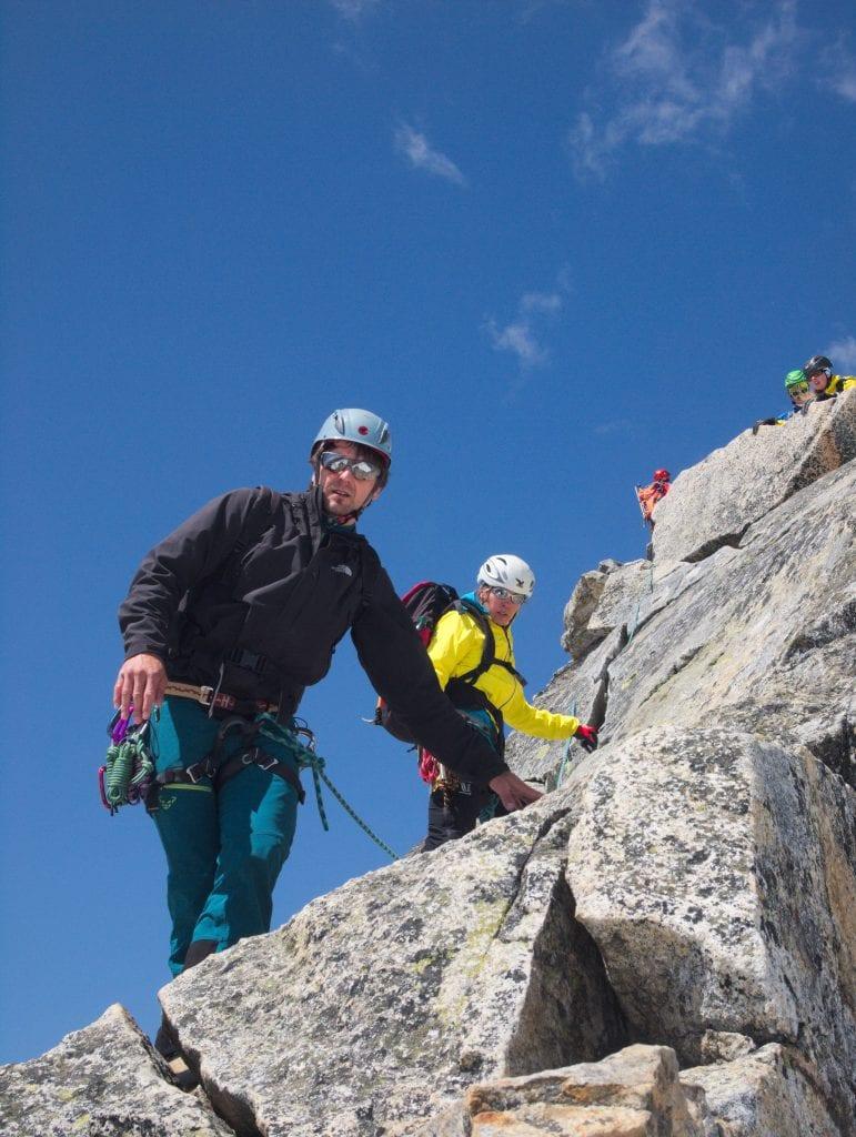 Der Alpenverein Kelheim auf Kletter-Tour in den Alpen