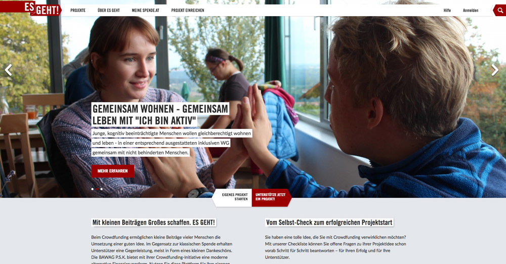 Fundraising für Vereine: Es geht! Eine Österreichische Spendenplattform