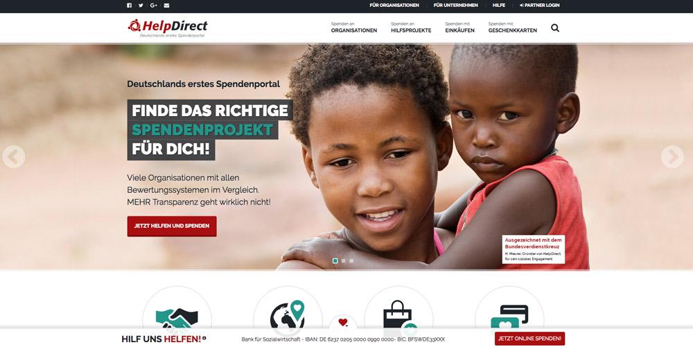 Fundraising für Vereine: HelpDirect