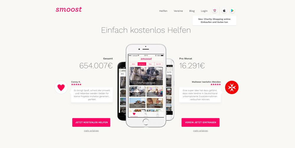 Fundraising für Vereine: Charity-Shopping mit Smoost