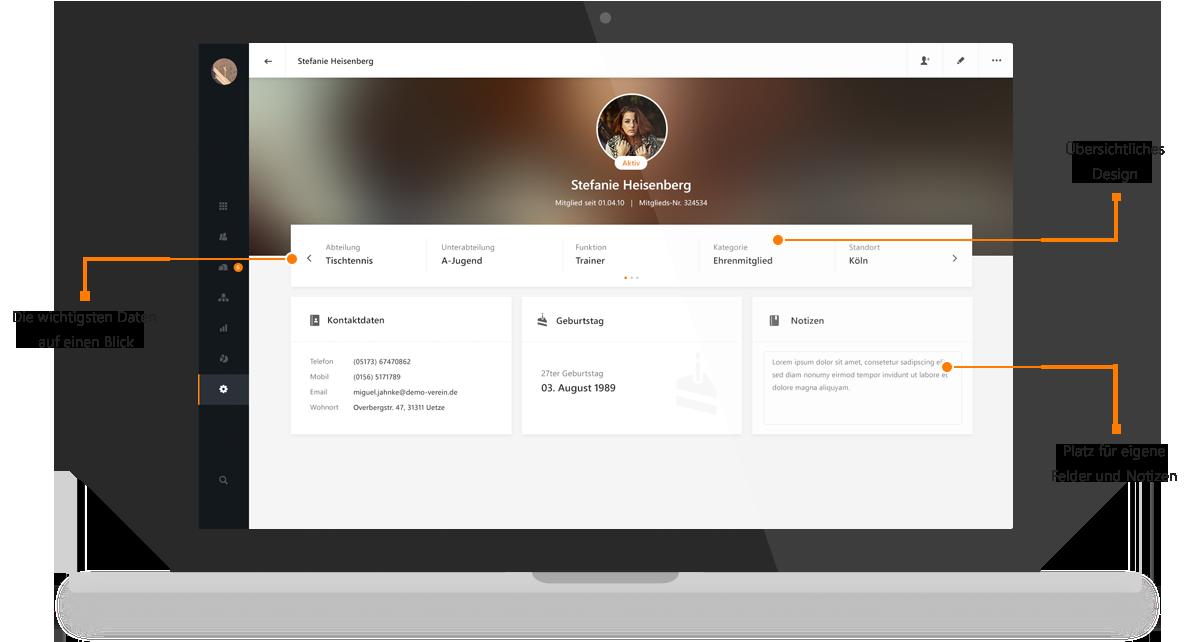 Vereinsverwaltung online – Mit MEINVEREIN ist Mitgliederverwaltung kinderleicht