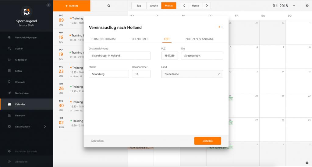 MEINVEREIN TUTORIAL: Vereinsausflug planen mit online Vereinsverwaltung und Kalenderfunktion