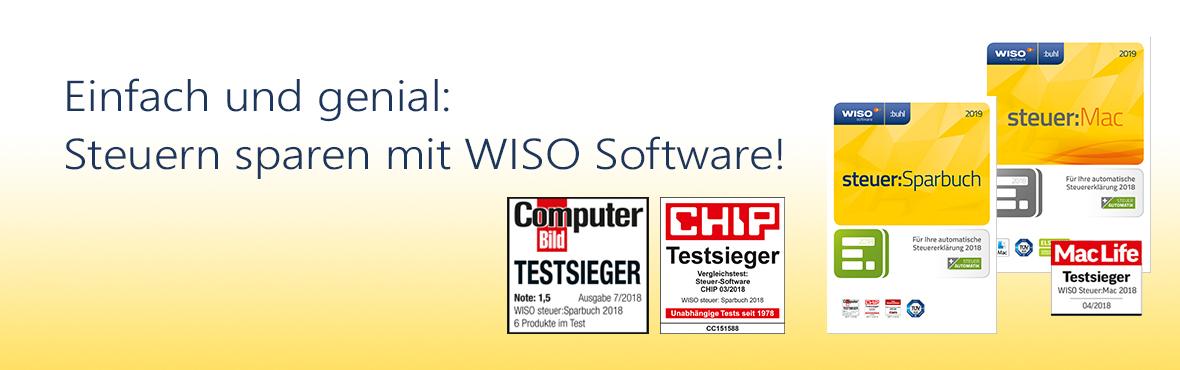 Wiso Software Für Steuer Online Banking Buchhaltung Von Buhl