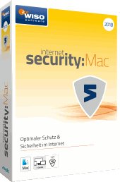 WISO internet security:Mac 2018 Packshot