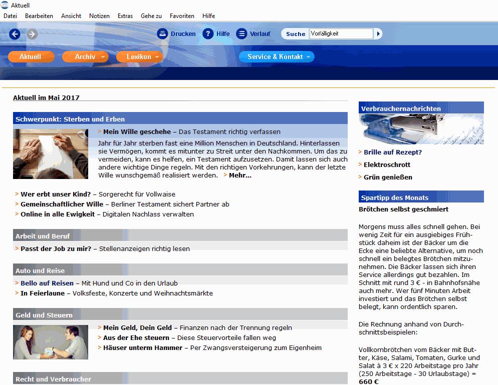 Auf der Startseite der WISO Monats-CD finden Sie immer die aktuellsten Themen. Ältere Beiträge können Sie über das Archiv aufrufen.
