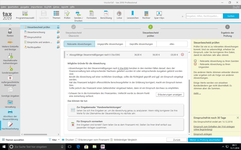 Steuersoftware Für Freiberufler Und Selbständige Tax 2019 Von Buhl
