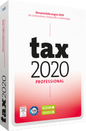 tax 2020 Professional Packshot