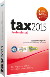 tax 2015 Professional Packshot