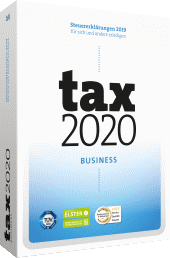 tax 2020 Business Packshot