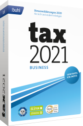 tax 2021 Business Packshot