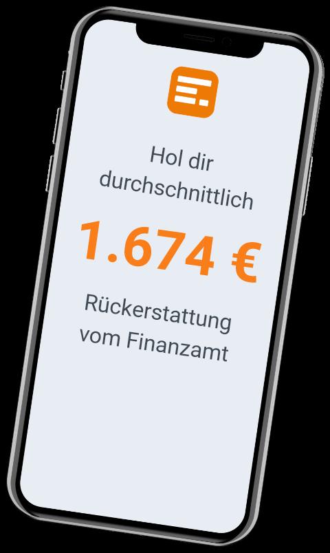 Steuer Phone App Rückerstattung