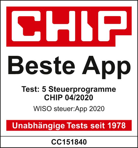 CHIP Test: Beste Steuer-App