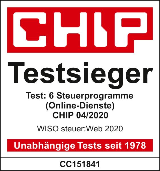 Chip Test-Sieger WISO Steuer-Web