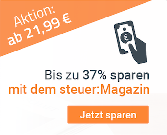 mit dem steuer:Magazin bis zu 37% sparen