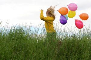 Kind-Luftballon