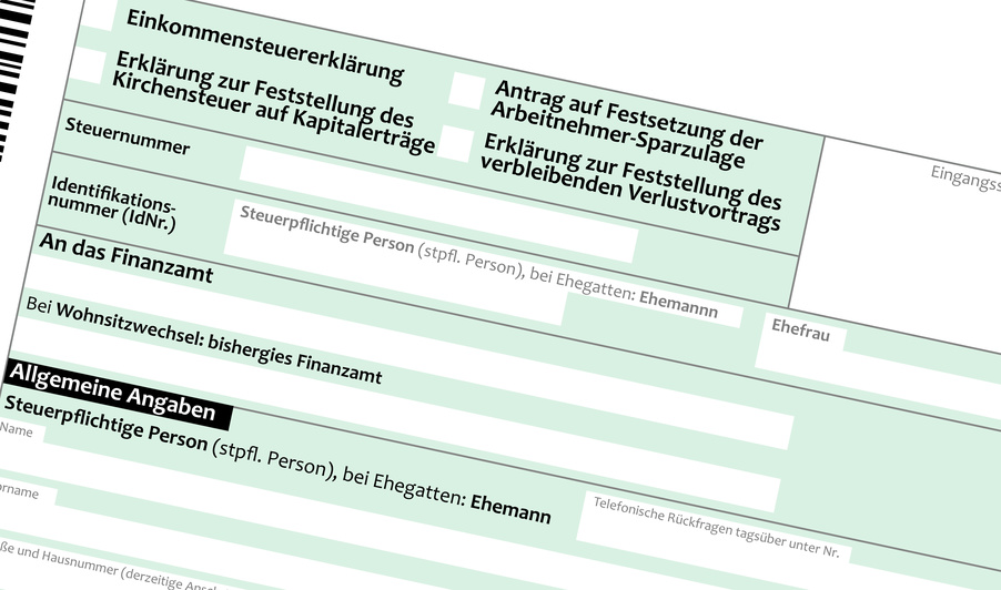 steuererklrung steuernsparen - Fristverlangerung Steuererklarung Muster