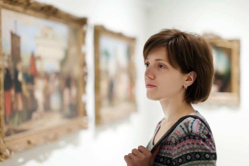 Besuch von Kunstausstellungen