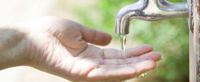 Anschluss an Abwasserentsorgungsanlage