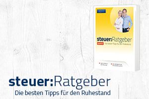 Steuer-Ratgeber Banner