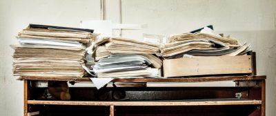 Unterlagen ausmisten – aber richtig!