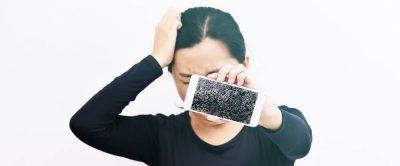 Reparatur eines Smartphones