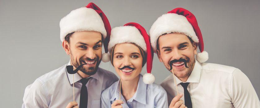 Weihnachtsfeier im Betrieb Steuer Titel