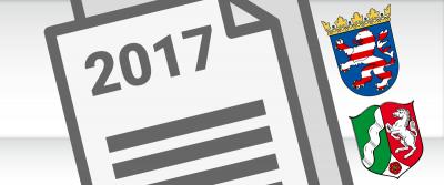 Hessen und NRW: Erklärungen 2017 werden ab März bearbeitet