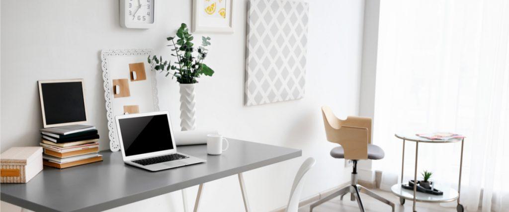 Ein Arbeitszimmer, mehrere Tätigkeiten
