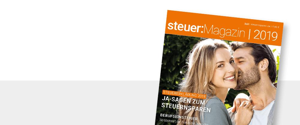 steuer Magazin 2019 Titelblatt