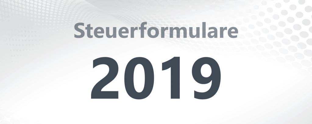 Steuerformulare 2019
