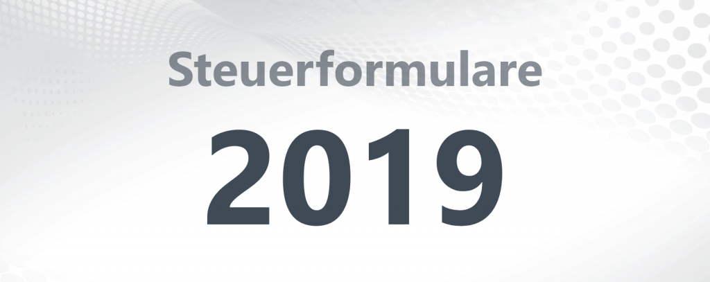 Steuerformulare 2019 Titelbild