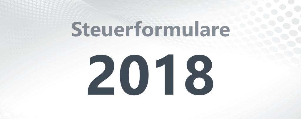 Steuerformulare 2018