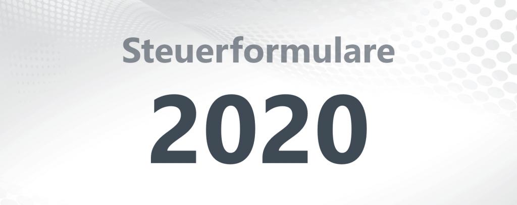 Steuerformulare 2020
