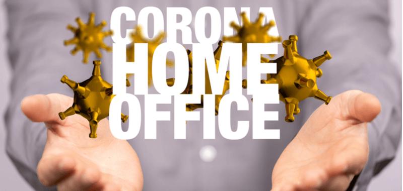 Arbeiten in Corona-Krise Titelbild